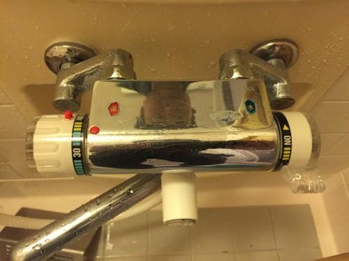 浴室 蛇口(カラン)のクリーニング 前橋市