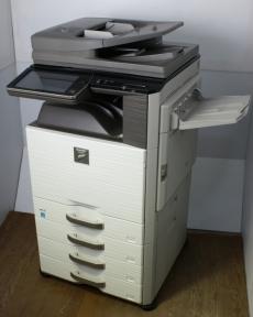 シャープ カラー複合機 MX-2640FN 4段カセット