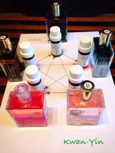 色と香りのセッション