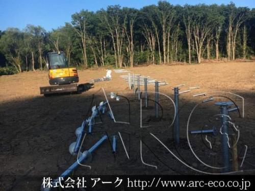 [幕別町」工事中太陽光発電現場情報を更新!