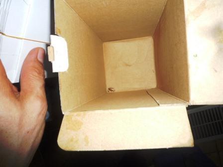 棚にしまってある箱には要注意!