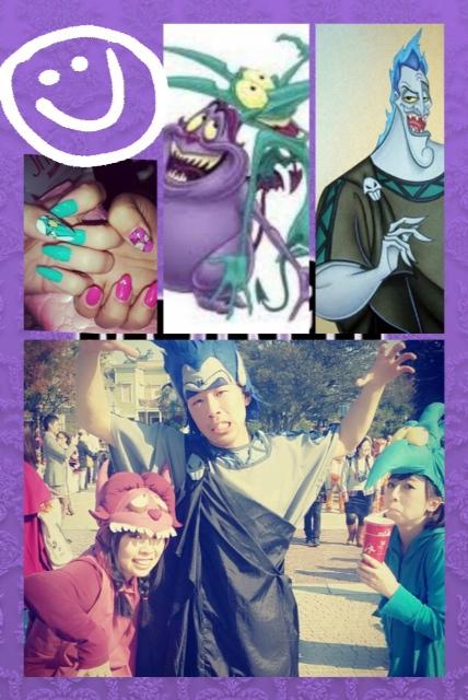 Happy Halloween in Disney