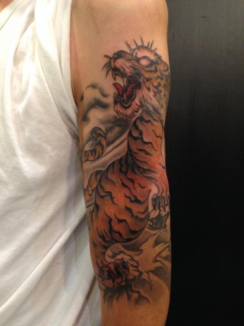 虎 in progress