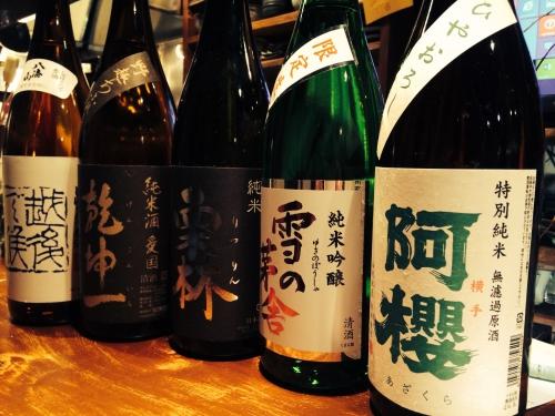 今週入荷・再入荷の日本酒!(阿櫻・雪の茅舎・八海山・栗林)