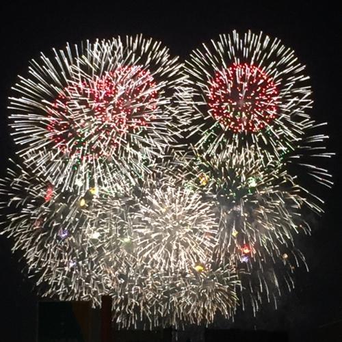 プラセンタの効能☆☆ 先日のえびす講の花火とともに☆