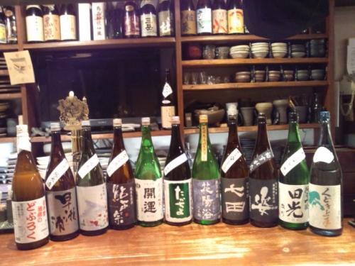 今週の新顔は、開運・早瀬浦・鮎正宗・七田・花陽浴等の新酒です