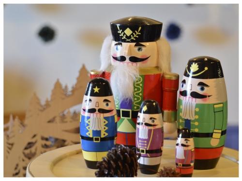 クリスマスのプレゼントに!くるみ割り人形のマトリョーシカ