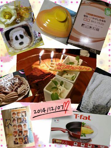 誕生日( ^-^)ノ∠※。.:*:・'°☆
