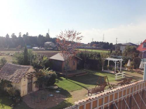 建物・芝生・植物・ガーデン全体をハイアングルで~!!
