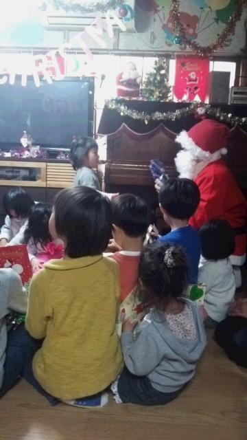 ☆クリスマス発表会、たくさんのお客さんの前で、頑張ったよ。