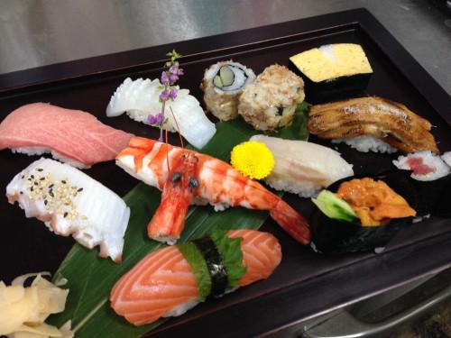 特選ネタのお寿司ができました!