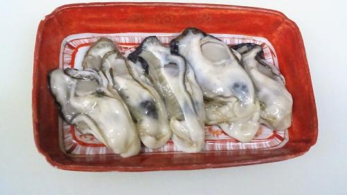 生牡蠣!八王子玉がきへ。兵庫県産の生かき!