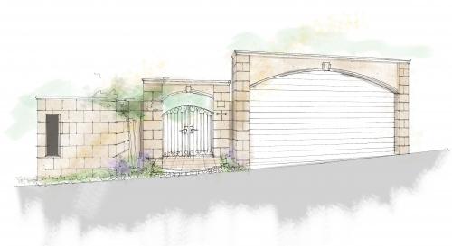 石貼り調のゲートの提案