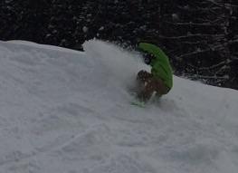 スノーボードツアー最終日 楽しんでます(^.^)