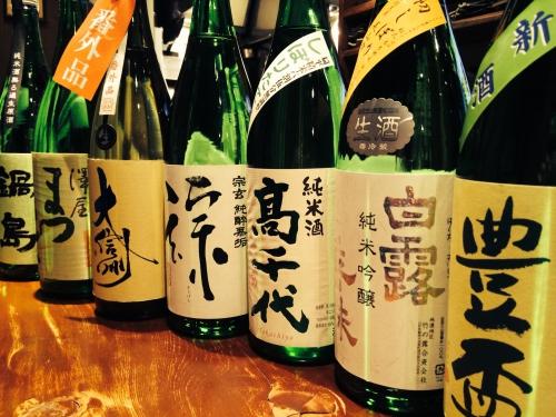 今週入荷の日本酒です!(豊盃・高千代・大信州・鍋島)