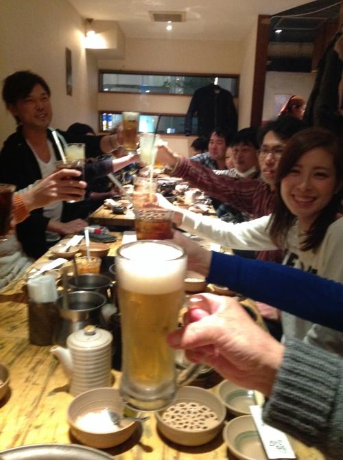 横浜・川崎方面スタッフの新年会