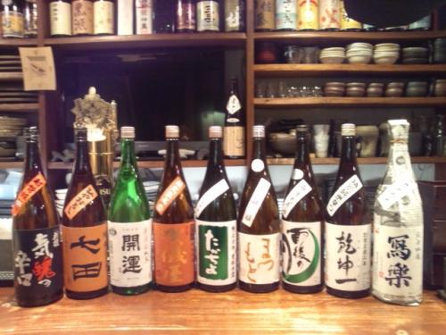 日本酒の今週の再入荷は、開運・雨後の月・賀儀屋等です