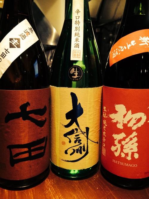 今週入荷の日本酒!(初孫・大信州・七田)