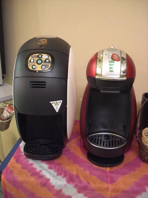 美容院でドルチェグスト本格コーヒーはいかが?