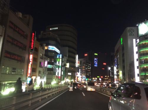 今日の現場は新宿