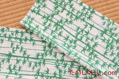 手ぬぐい 竹(白)