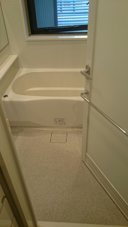 立川市で浴室ハウスクリーニング