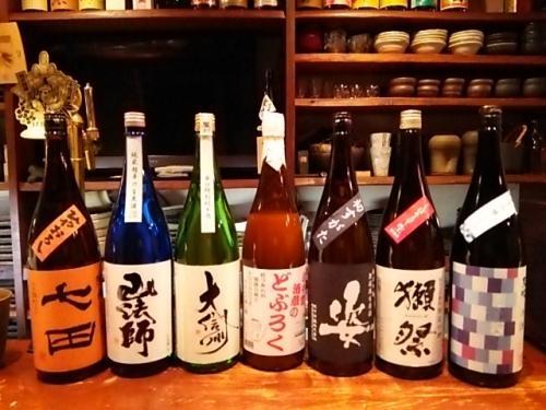 日本酒の再入荷は、天吹冬色・姿・大信州等が入りました