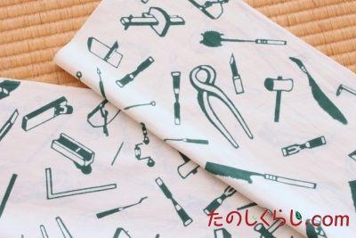 手ぬぐい 大工道具