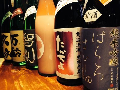 今週入荷の日本酒!(たかちよ・鮎正宗・智則・万齢・久礼)