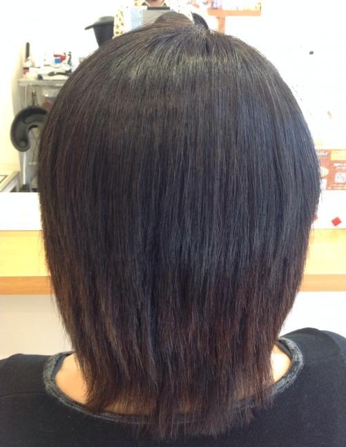 縮毛矯正と和漢彩染とヘナ