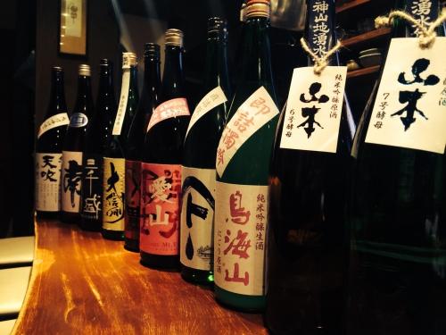 今週入荷の日本酒!(山本・鳥海山・大信州・来福・天吹)