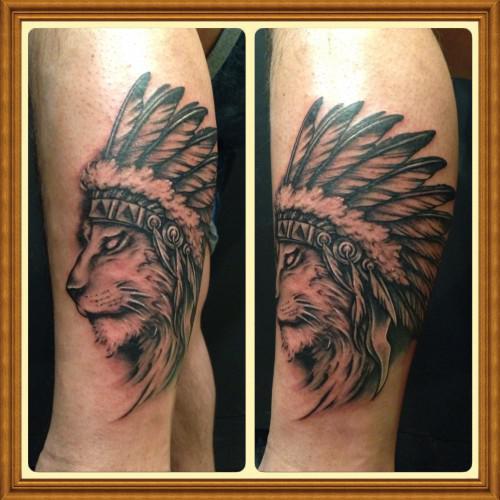 ライオン インディアン