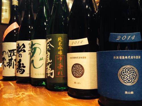今週入荷の日本酒です!(新政・奈良萬・松の寿・長陽福娘)