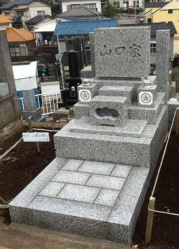 久保山墓地「Y」様 完成写真