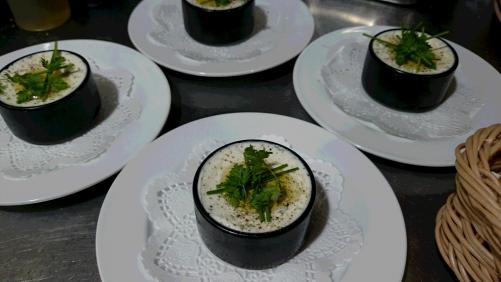 香草入りクリームチーズ