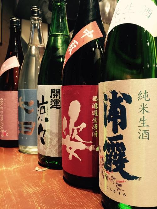 今週の日本酒!(浦霞・開運・七田・而今)