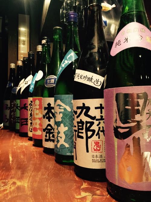 今週の日本酒!(根知男山・本金・七田・鍋島)