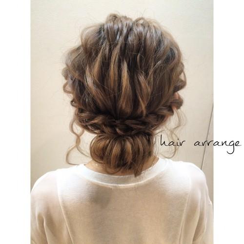 イマドキ女子のヘアアレンジ