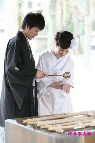 和装着ての結婚写真は浅草写真館で!