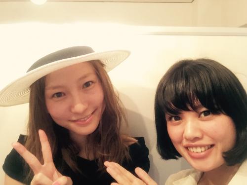 会いたかった!前林由佳子さん。