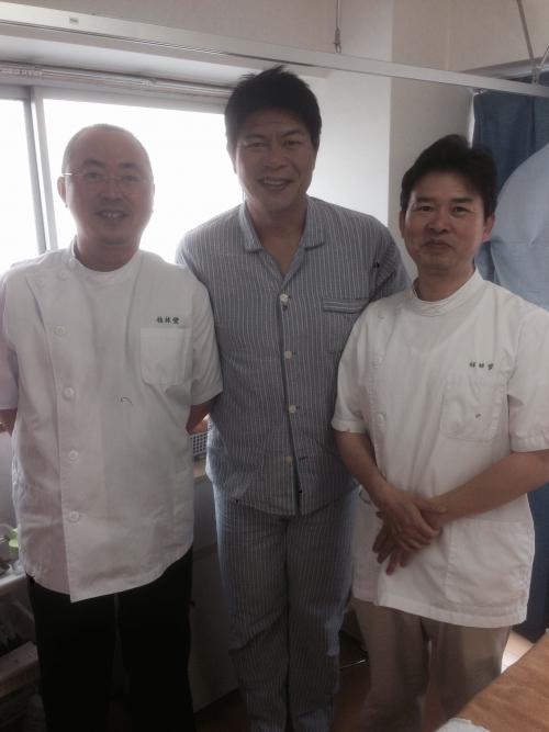 元野球選手川崎憲次郎さんが来院されました