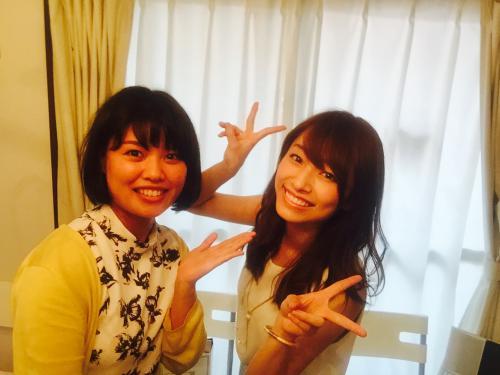 香水と吉田理紗さん。