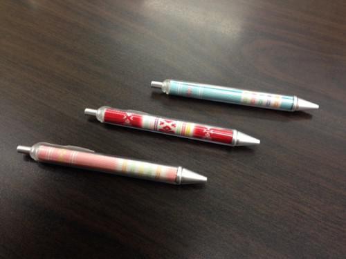 とってもカワイイ筑前博多織の和柄ボールペンが入荷しました!