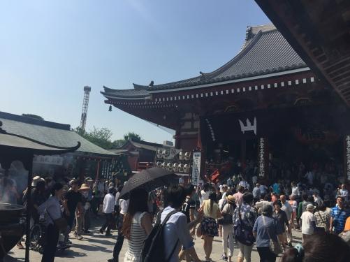 46000日@浅草寺お参りしてまいりました。