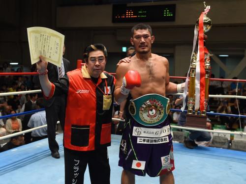 清田選手勝利!!