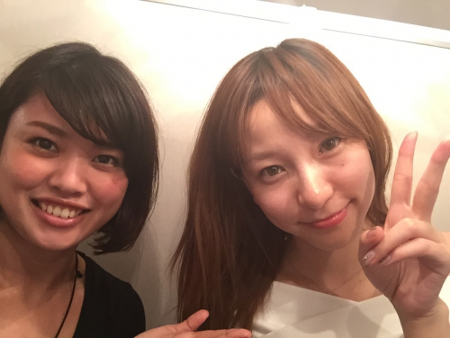 イラストが可愛い、前林由佳子さんご来店