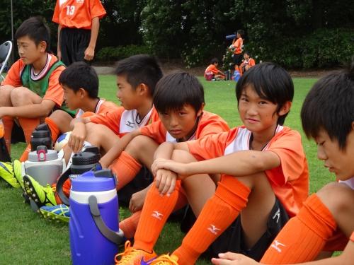 サッカー強化夏合宿1日目!