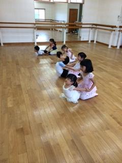 3歳児のバレエ(^^)