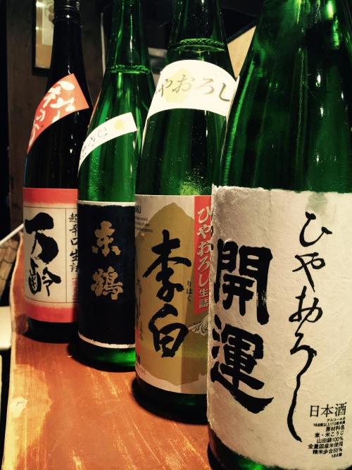 今週入荷した日本酒!(春霞・鶴齢・開運・万齢)