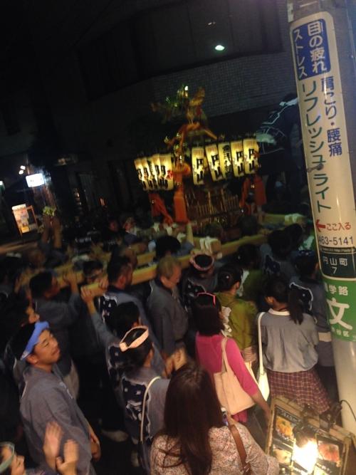 渋谷の金王祭in円山町!シルバーウィーク真っ盛り!